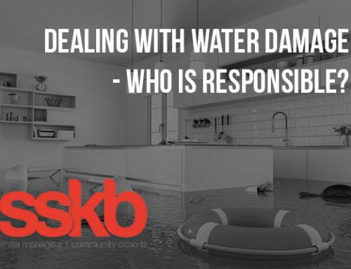 Dealing With Water Damage – Who Is Responsible?