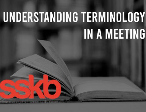 Understanding Terminology In A Meeting