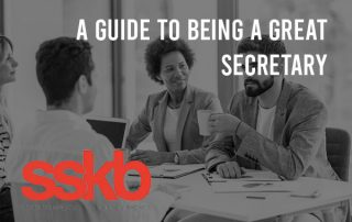 A guide to being a great secretary
