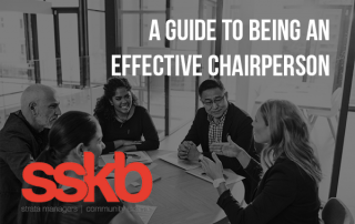 A guide to being an effective Chairperson