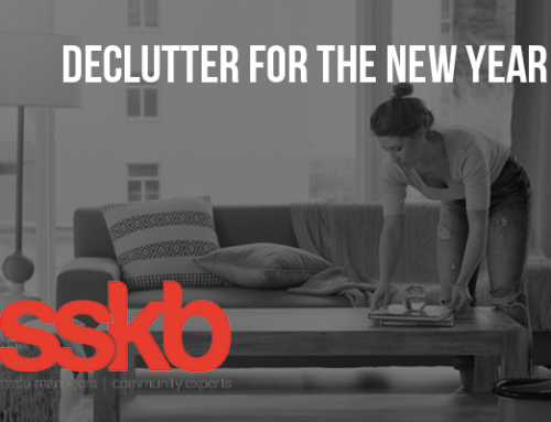 Declutter your Apartment for the New Year